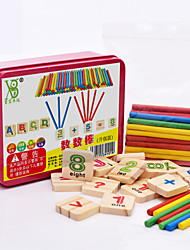 Building Blocks Educational Flash Cards For Gift  Building Blocks Wooden 3-6 years old Toys