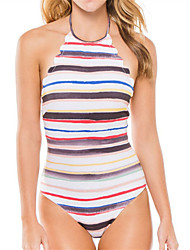 Women's Halter One-piece swimwear