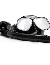Дайвинг Маски Трубки Защитный Подводное плавание и снорклинг Алюминиевый сплав 100% пищевой силикон Сплав Эко PC