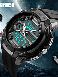 Women's Men's Sports Watches LED Back Light 50M Water Resistant Shock Military Watch Quartz Digital Dual Display Wristwatches