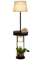 60 Rústico Inovador Luminária de Chão , Característica para LED , com Pintado Usar Interruptor On/Off Interruptor