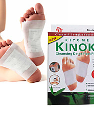 1 Box Body Toxin Cleansing Healthy Slimming Detox Feet Foot Patches Pads Kit(10 Patches & 10 Adhesives)