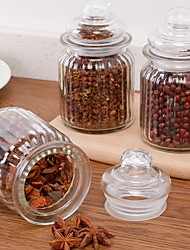 Glass Storage Tea Tank Miscellaneous Food Candy Storage Bottle