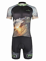 Paladin Sport Men  Cycling Jersey  Shorts Suit DT752