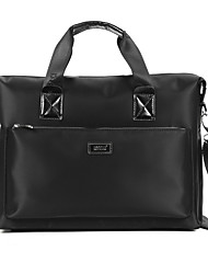 Men Bags All Seasons Oxford Cloth Briefcase with Smooth for Business Casual Formal School Date Work Office & Career Black