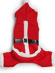 Perro Abrigos Pantalones Ropa para Perro Navidad Caricatura