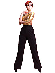 Danse latine Bas Femme Spectacle 70% polyester 30% rayonne 1 Pièce Taille moyenne