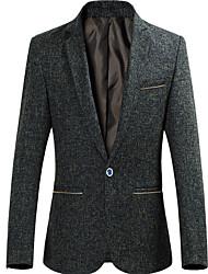 Men's Sport Simple Summer Blazer,Solid V Neck Short Sleeve Regular Rayon