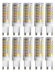 9W Luces LED de Doble Pin T 88 SMD 2835 750-850 lm Blanco Cálido Blanco Fresco Blanco Natural Regulable V 10 piezas