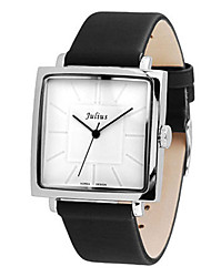 Women's Fashion Watch Japanese Quartz Water Resistant / Water Proof Leather Band Charm Casual Black White Brown
