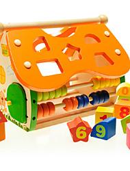 Конструкторы Игрушечные счеты Игры с последовательностью Для получения подарка Конструкторы Лошадь 2-4 года 3-6 лет Игрушки