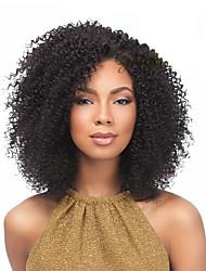 Jerry Curl Pre-loop Crochet Braids Medium Brown Hair Braids 14Inch Kanekalon 5 Package For Full Head 170gper pack Hair Extensions
