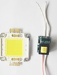 8w cob led diy chip board panneau perle avec led alimentation