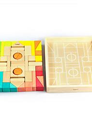 Kit Faça Você Mesmo para presente Blocos de Construir Quadrada Brinquedos