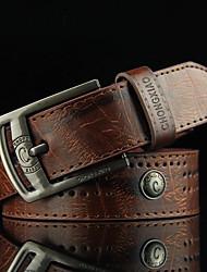 Masculino Vintage Casual Liga Com Corte Taxas Cinto para a Cintura