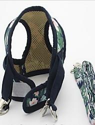 Harness Leash Adjustable Geometric Fabric