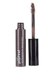 1Pcs Makeup EyeBrow Gel Coffee Black Brown Paint Eyebrows