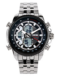 Men's Imported Quartz Multi-Function Waterproof Steel Band Watch