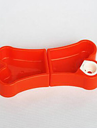 Cat Dog Dogers Pet Bowls& Alimentation portable rouillant rose bleu vert rouge