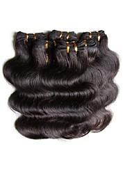 Cabelo Humano Ondulado Cabelo Brasileiro Onda de Corpo 6 meses tece cabelo
