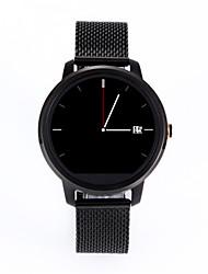 Smart Watch Numérique Montre GPS Communication Alliage Bande Noir Doré
