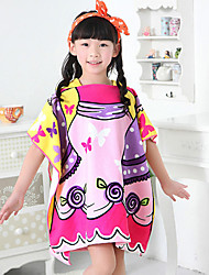 Bath Towel Pattern High Quality 100% Polyester Child Wearable Towel 60*120cm
