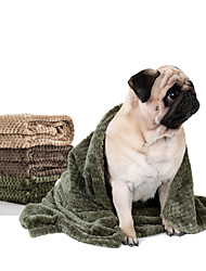 Cat Dog Bed Pet Blankets Soft Warm  Durable for Winter