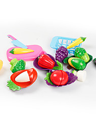 Toy Foods Plastics Children's