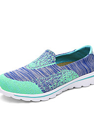 Unisex Sneakers Light Soles Tulle Summer Fall Casual Light Green Light Pink Blue Green Red 1in-1 3/4in