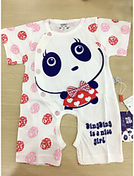 Baby Kids' New Baby Daily Baby Shower Animal One-Pieces,Animal Print Spring Summer