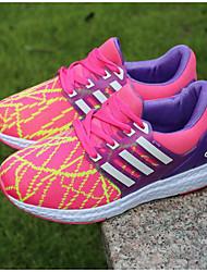 Boy's Sneakers Comfort Tulle Spring Fall Outdoor Casual Walking Magic Tape Low Heel Light Blue Blushing Pink Navy Blue Flat