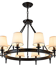 LightMyself 10 Lights Flush Mounted Fixture Chandelier One Light Two Style Modern/Contemporary Traditional/Classic Rustic Painting
