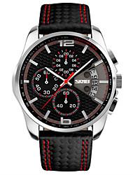 Hombre Reloj Deportivo Reloj de Vestir Reloj de Moda Reloj de Pulsera Reloj creativo único Chino Cuarzo LCD Calendario Cronógrafo