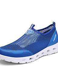 Unisex Loafers & Slip-Ons Comfort Couple Shoes Light Soles Tulle Summer Fall Casual Royal Blue Blushing Pink Light Grey Dark Grey1in-1