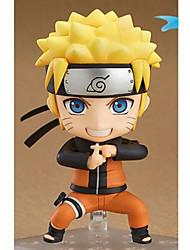 Figuras de Ação Anime Inspirado por Naruto Naruto Uzumaki PVC 10 CM modelo Brinquedos Boneca de Brinquedo