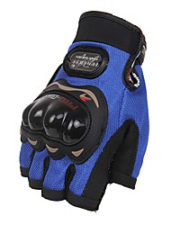 Sports Gloves Unisex Cycling Gloves Bike Gloves Anti-skidding Protective Fingerless Gloves Leather Cycling Gloves/Bike Gloves
