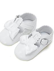 Niños Bebé Zapatos de taco bajo y Slip-Ons Primeros Pasos PU Verano Otoño Casual Fiesta y Noche Vestido Primeros Pasos PajaritaTacón