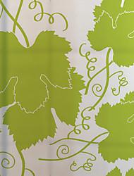 Arbres / Feuilles Contemporain Autocollant de Fenêtre,PVC/Vinyl Matériel Décoration de fenêtre