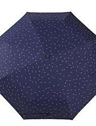 Ombrello perBianco Beige Blu scuro