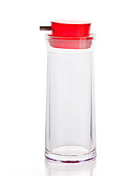 Home Seasoning Tank Bottle Plastic Oil Bottle Kitchenware Seasoning Bottle