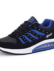 Для женщин Спортивная обувь Любовь На каждый день Классический и неустаревающий Мода Полиуретан Сетка Весна ЛетоПовседневные Одежда для