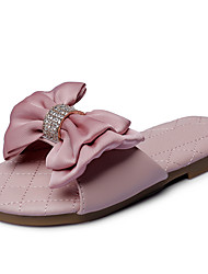 Girls' Sandals Comfort Flower Girl Shoes Leatherette Summer Fall Wedding Outdoor Office & Career Party & Evening Dress CasualRhinestone