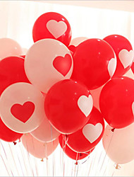 The Wedding Proposal Of Romantic Love Balloons/Wedding Decorated Balloons 100 / Sets