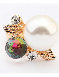 Euramerican Fashion Elegant  The Great Pearl Ring  Women's Daily Rings Movie Jewelry