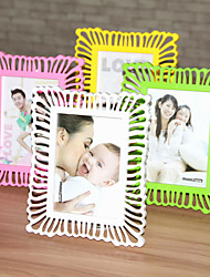 1PC Picture Frames Modern/Contemporary Country RectangularPlastics Table Random Color
