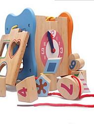 Конструкторы Игрушечные счеты Игры с последовательностью Для получения подарка Конструкторы Модели и конструкторы Квадратная Дерево2-4