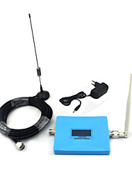 Mini écran intelligent 2g gsm 900mhz 4g dcs 1800mhz répéteur de signal de signal de téléphone portable avec antenne de fouet / antenne