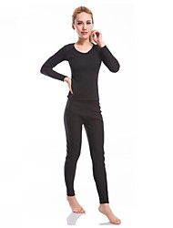 Women's Running T-Shirt with Pants Long Sleeves Fitness, Running & Yoga Clothing Suits for Yoga Running/Jogging Exercise & Fitness Fitness