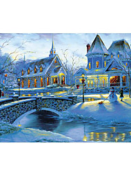 Jigsaw Puzzles Jigsaw Puzzle Building Blocks DIY Toys Square Dome House Cartoon Wooden