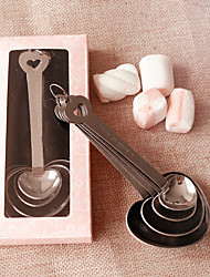 Heart Measuring Spoons Beter Gifts® DIY Crafts / Wedding Souvenirs